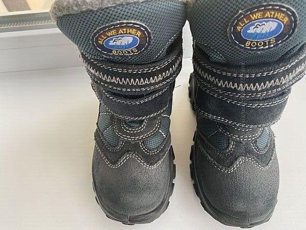 зимние ботинки мембрана Капика отличное состояние